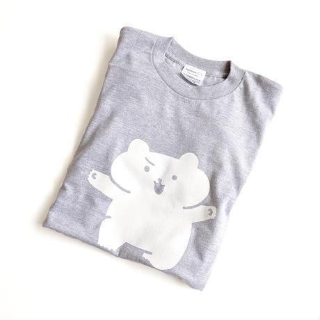 コッペくん はいいろTシャツ